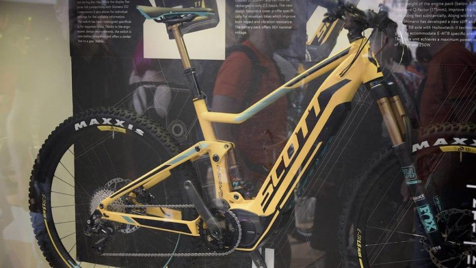 Scott e-Spark 700 Plus: ecco motori Shimano e gomme Maxxis