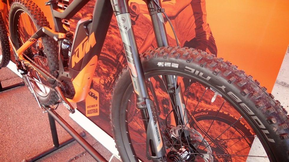 Magura Boltron, steli rovesciati solo per e-bike