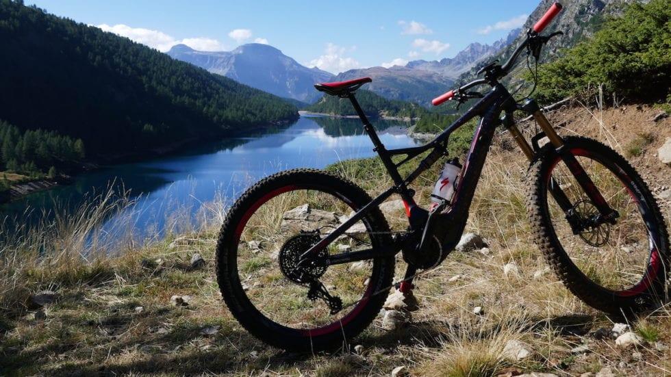 Uno di quei giorni in cui… sull'Alpe Devero con la e-bike