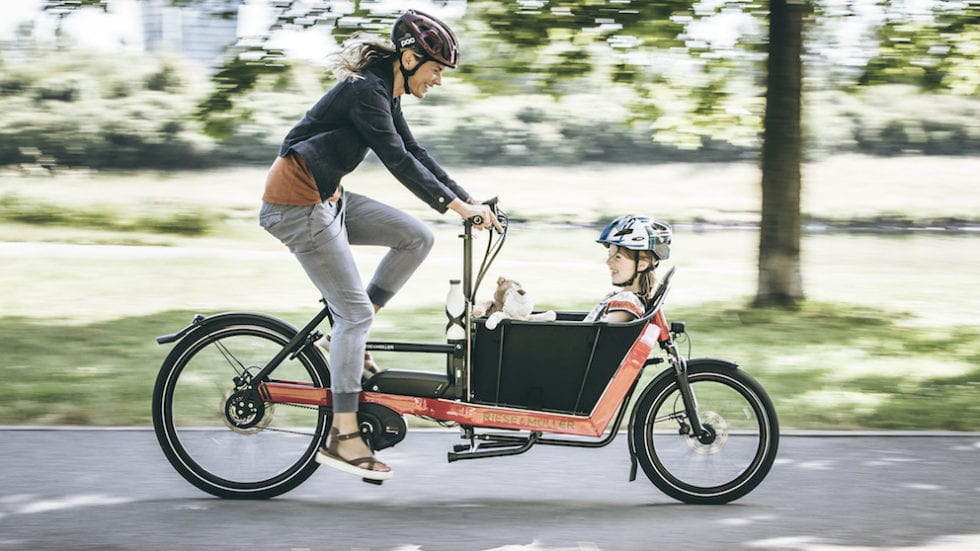 """E-cargobike di Riese & Müller: bici """"speciali"""" per le più svariate esigenze"""