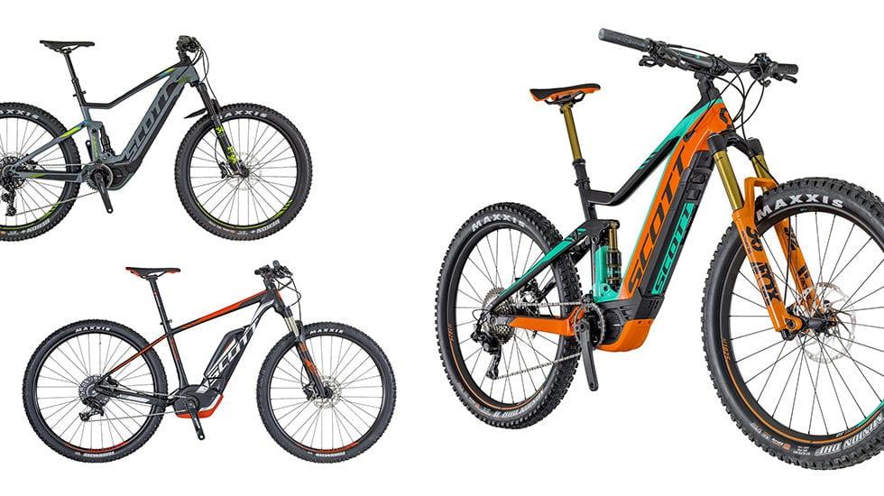 Gamma e-Bike Scott 2018: prezzi e immagini ufficiali