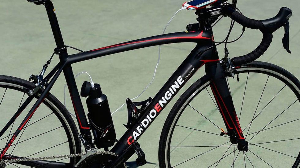 Arriva CardioEngine, per trasformare la bici da corsa in una e-bike