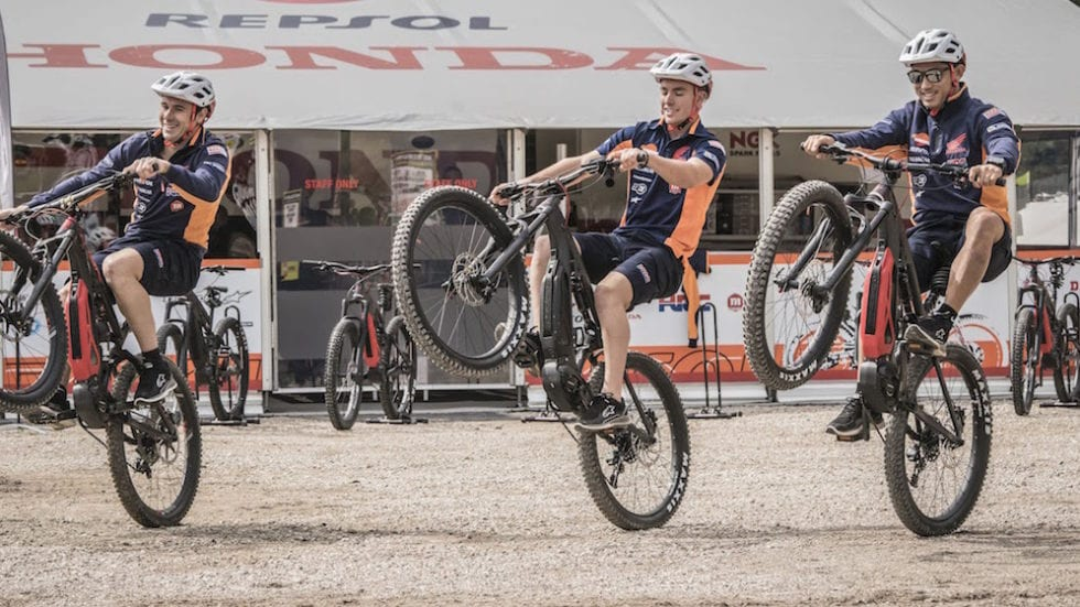 Thok E-Bikes fornitore del Team Montesa Honda Trial di Toni Bou