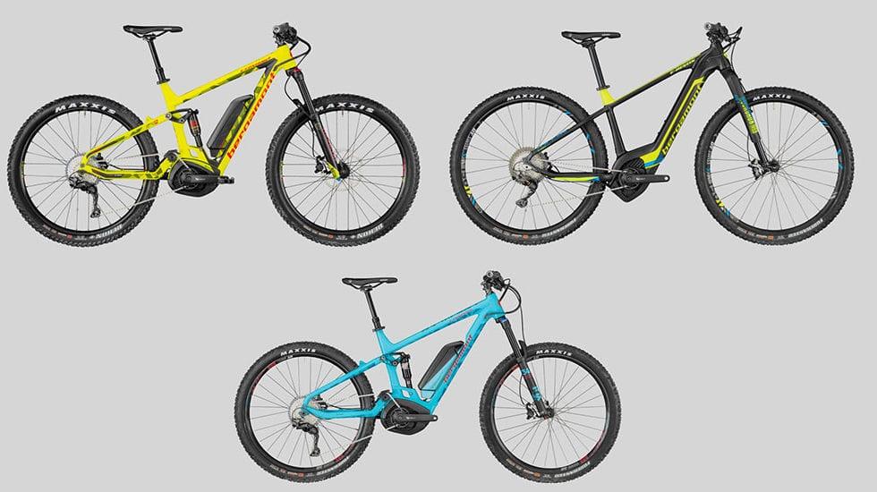 E-bike Bergamont 2018: i modelli in catalogo e i prezzi