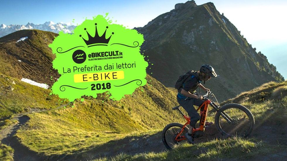 Sondaggio e-bike 2018: qual è la vostra preferita?