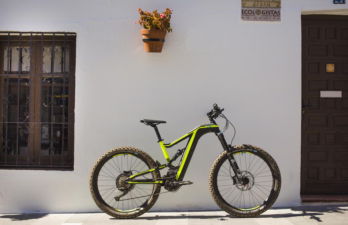 pedalata assistita batteria