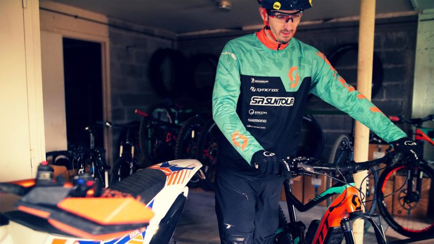 allenarsi con la e-Bike, Rémy Absalon