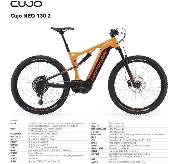 Cannondale Cujo NEO 130