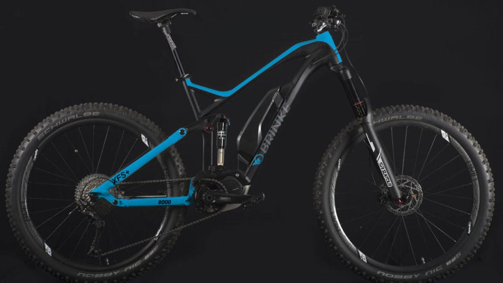 Brinke XFS+: e-Bike da all mountain grintosa e moderna