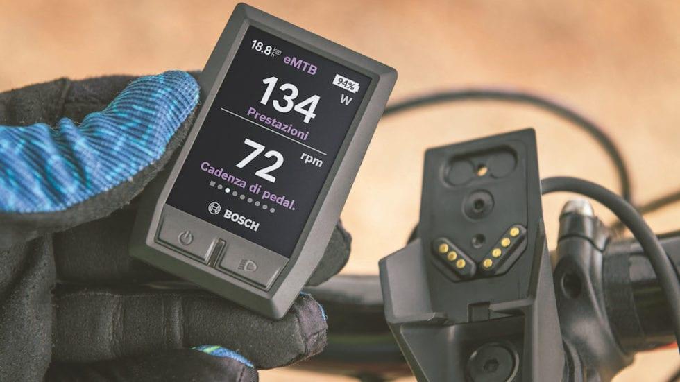 Nuovo display Bosch Kiox: colori, Bluetooth e più interazione