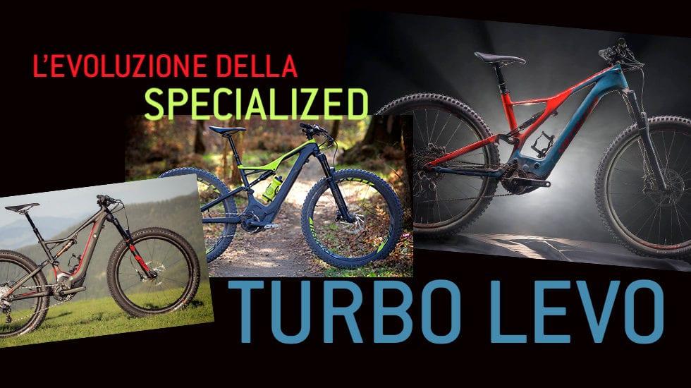 L'evoluzione della Specialized Turbo Levo dal 2015 a oggi
