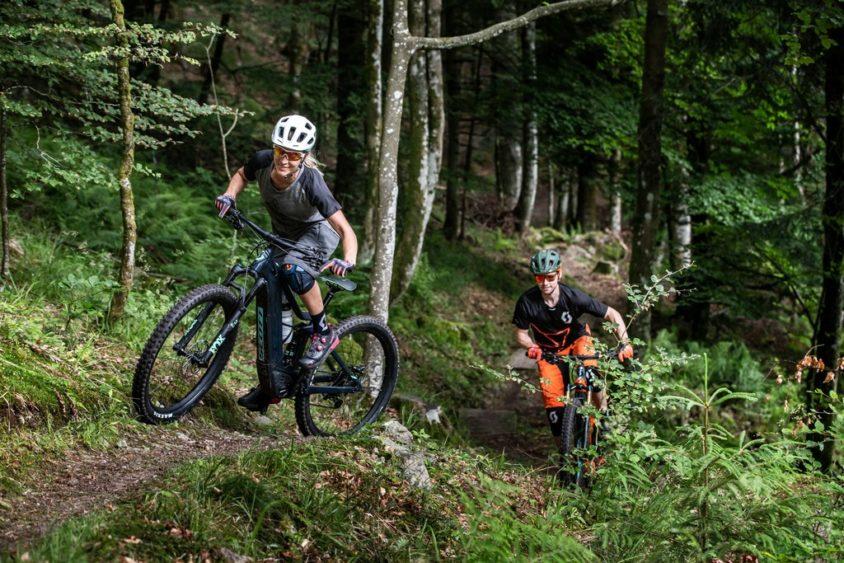 noleggio e-Bike Scott