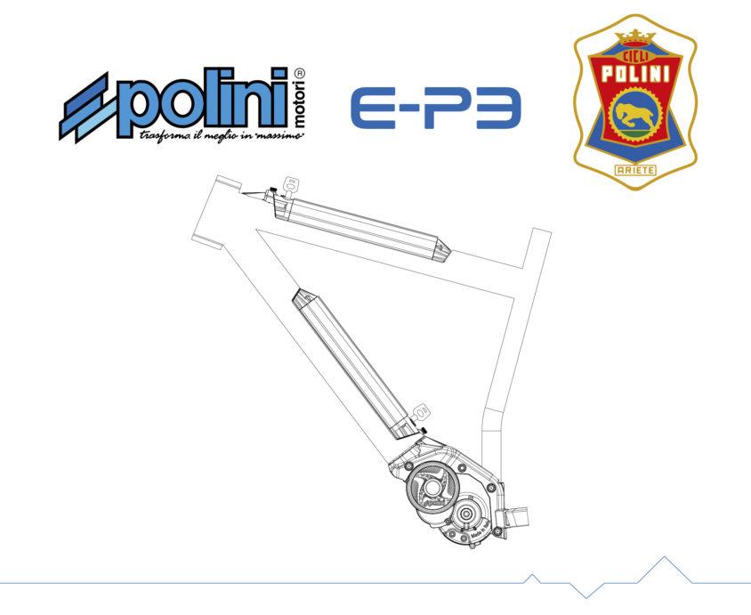 Polini E-P3 Mtb Dual Battery 1000Wh