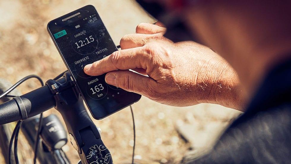 Shimano E-Tube Ride: tutti i dati in tempo reale sullo smartphone