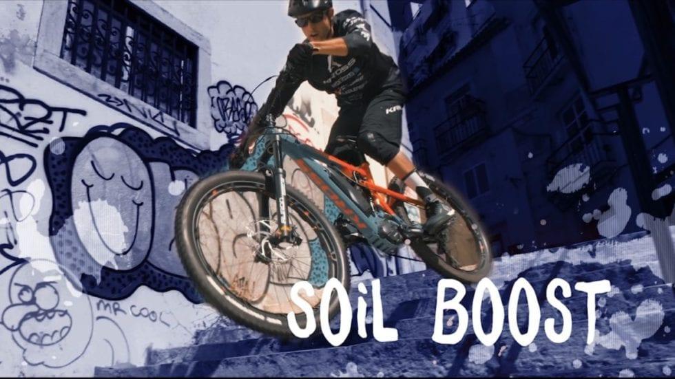 VIDEO – David Cachon a Lisbona con la Kross Soil Boost