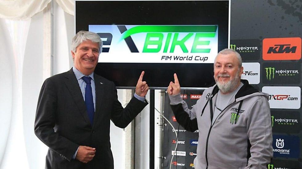 Nasce la FIM E-XBike World Cup: esordio ad Imola, sulla pista da cross!