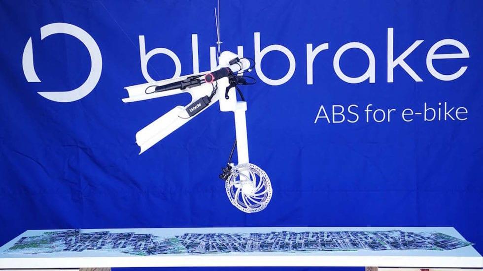Blubrake presenta il suo ABS per e-bike, leggero, integrato, invisibile