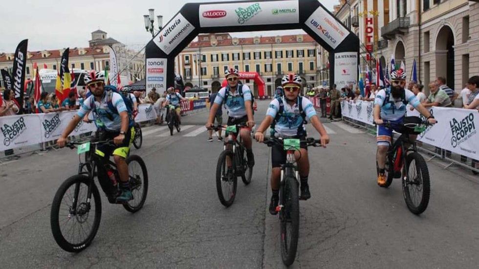 Le Thok Mig e Mig-St con l'Eco Team alla Granfondo La Fausto Coppi