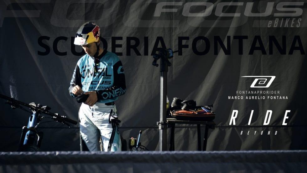 Con Marco Aurelio Fontana (e Focus) all'Alta Valtellina Bike Marathon
