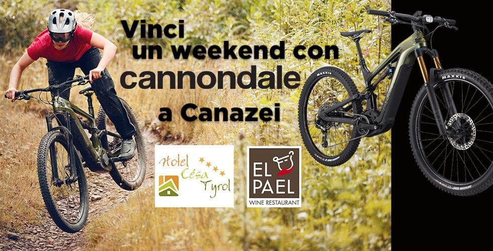 CONCORSO – Vinci un weekend con le Cannondale Habit Neo e Moterra