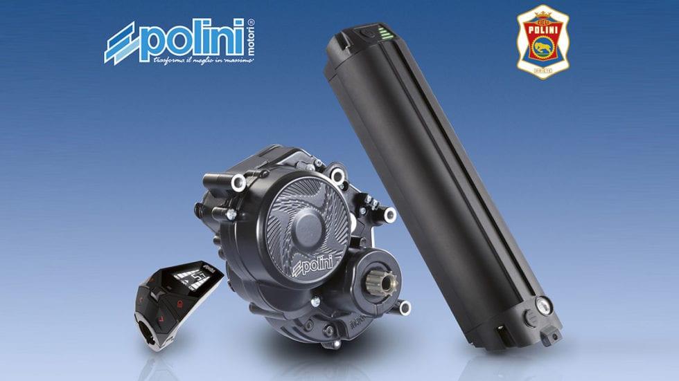 Polini fornirà i motori alle nuove e-Mtb Kawasaki e Jeep
