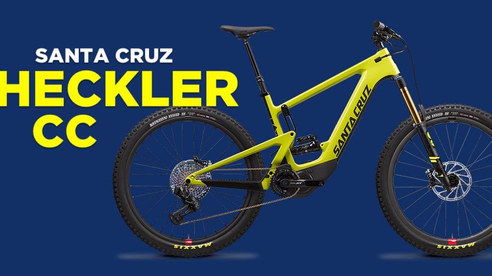 Santa Cruz Heckler CC: la prima e-Mtb è ispirata alla Bronson