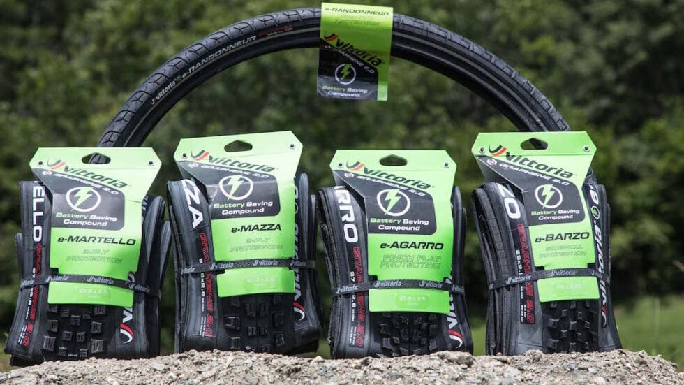 Nuova gamma di pneumatici Vittoria per e-Mtb in grafene