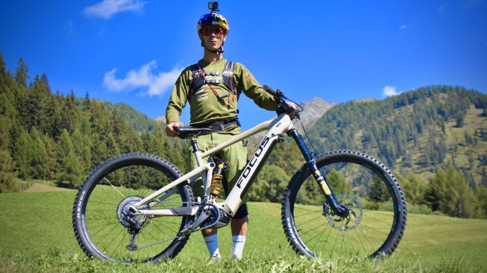 Marco Aurelio Fontana e l'agonismo in e-Mtb: «Per me è andare in bici 2.0»