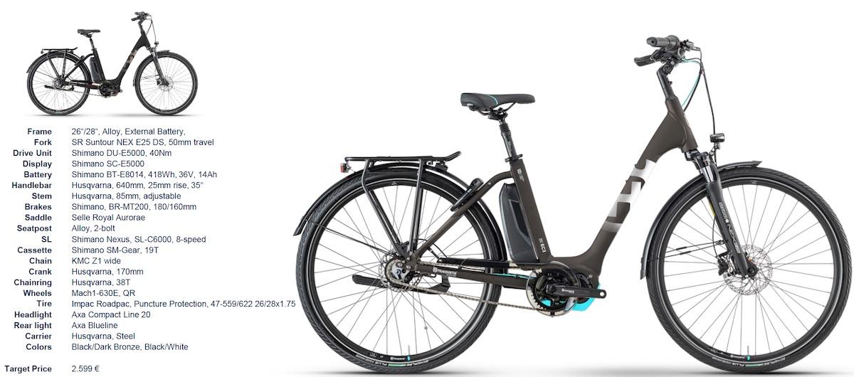 e-bike Husqvarna 2021