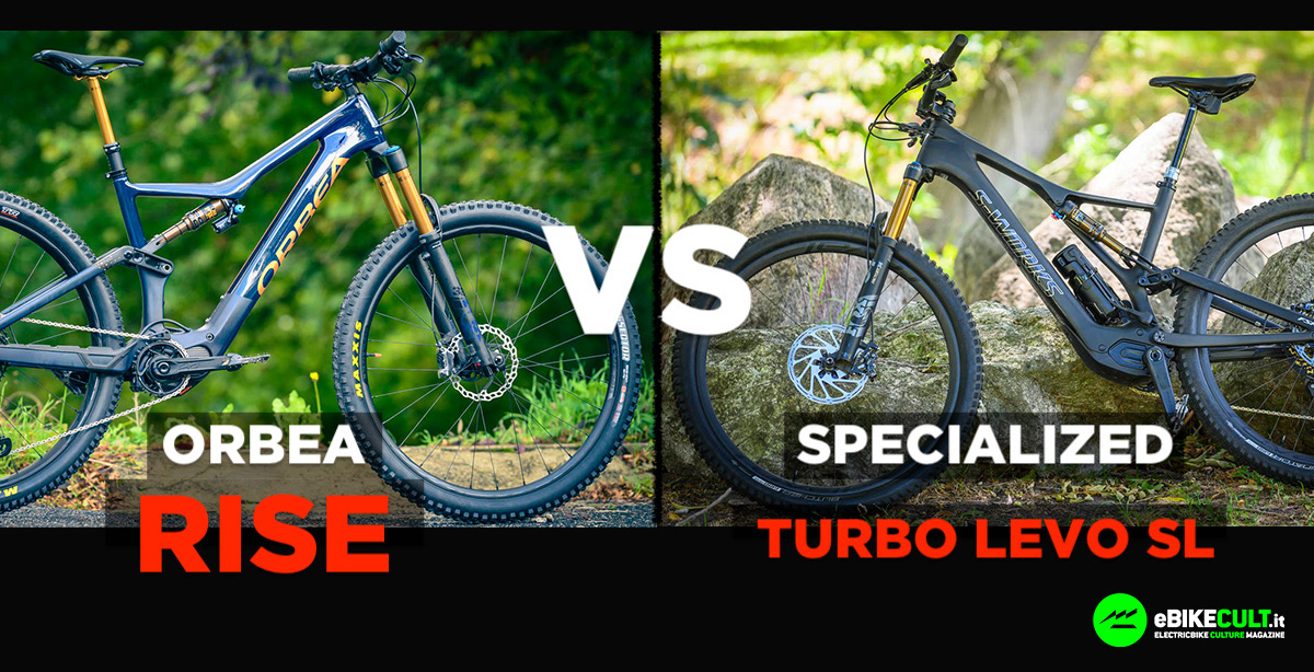 Orbea Rise contro Specialized Turbo Levo SL