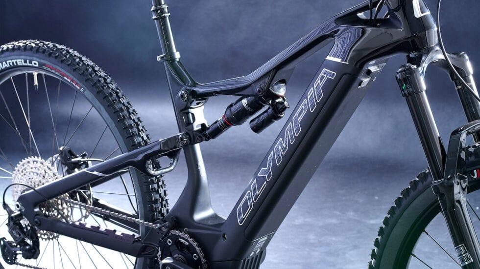 Olympia Ex-900 Karbo Sport: telaio in carbonio e altre novità