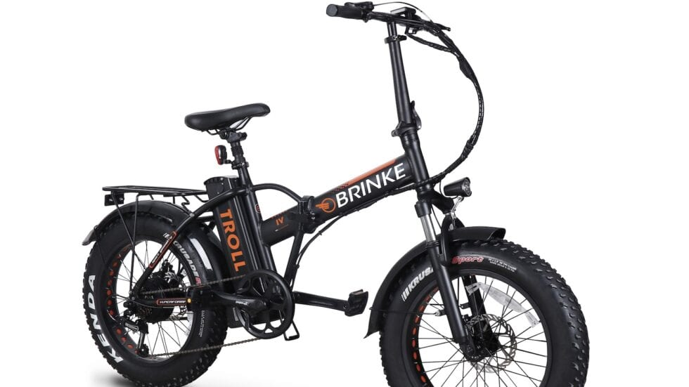NOVITÀ – Brinke Troll: la piccola fat e-bike da città