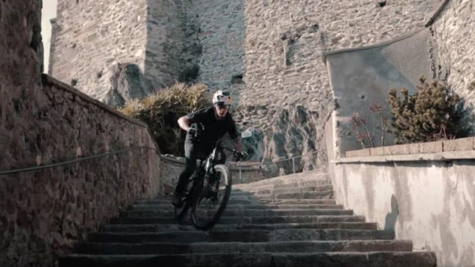 """Feel the flow"", il nuovo video di Marco Aurelio Fontana insieme a Bosch"