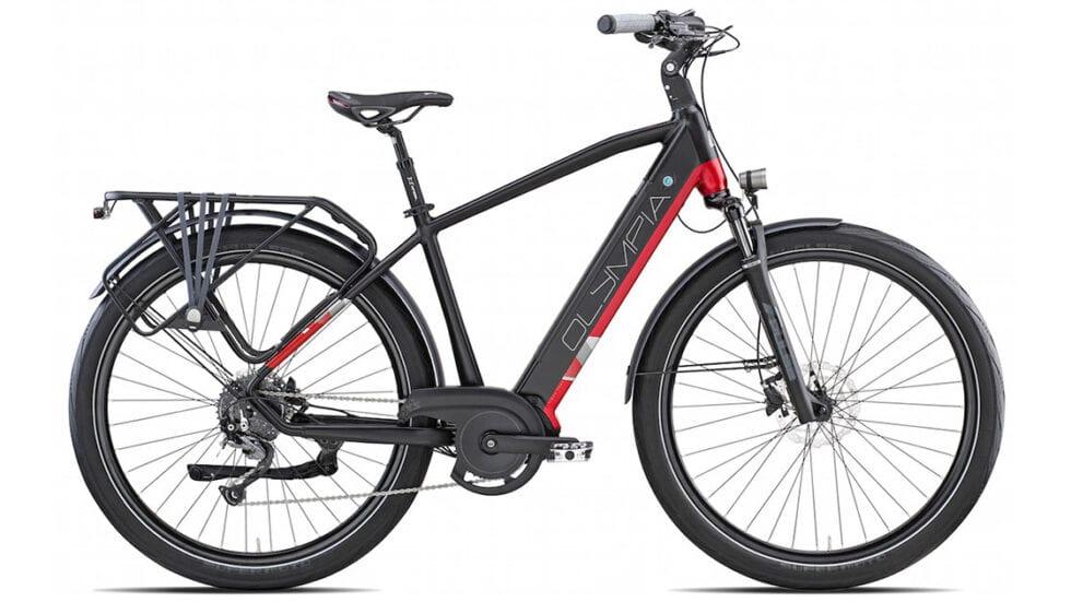 Olympia Super Magnum: ecco la versione evoluta dell'e-trekking bike