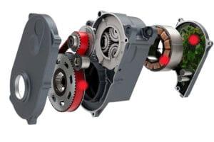 motore di una e-Mtb