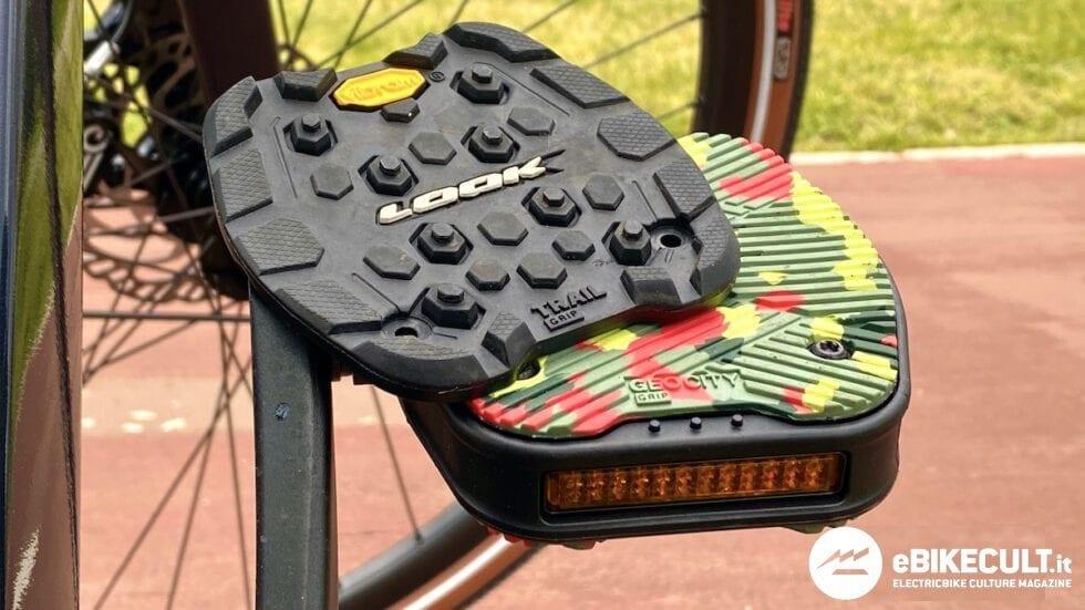 TEST – Pedali Look Geo City Grip e Grip Trail: realizzati con Vibram
