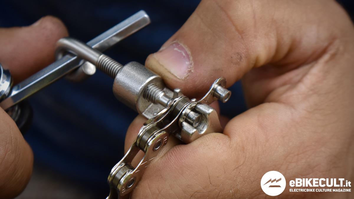 riparare la catena