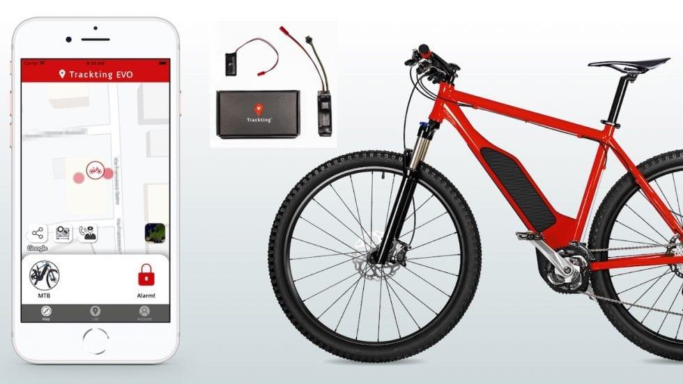 Trackting Evo: antifurto gps smart per e-bike: invisibile, leggero, intelligente